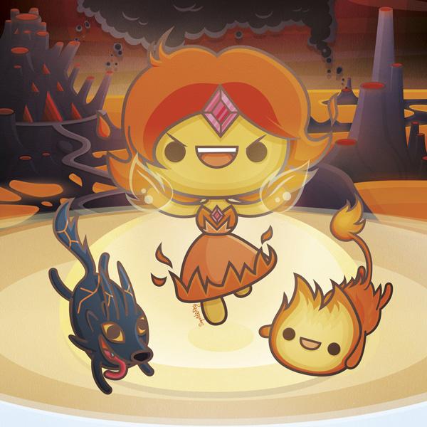 Fire Kingdom - Kawaii Adventure Time