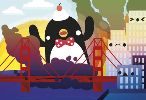 Kawaii Penguin Invasion