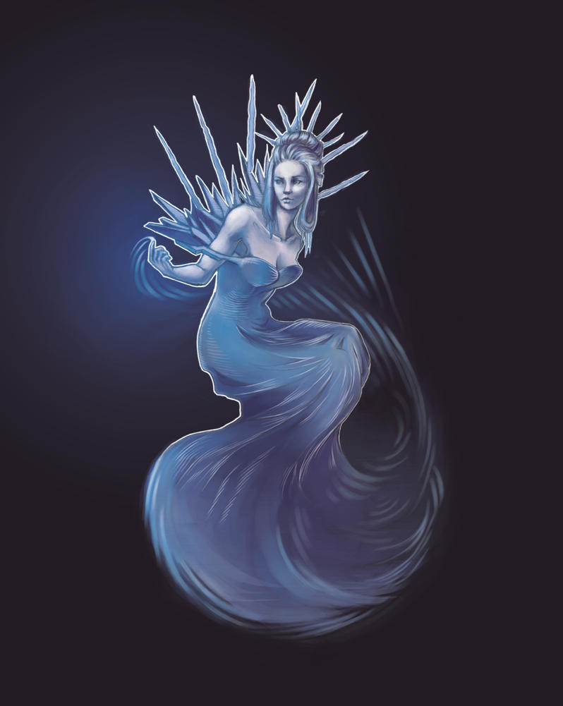 The Snow Queen, Cover by SaraPlante