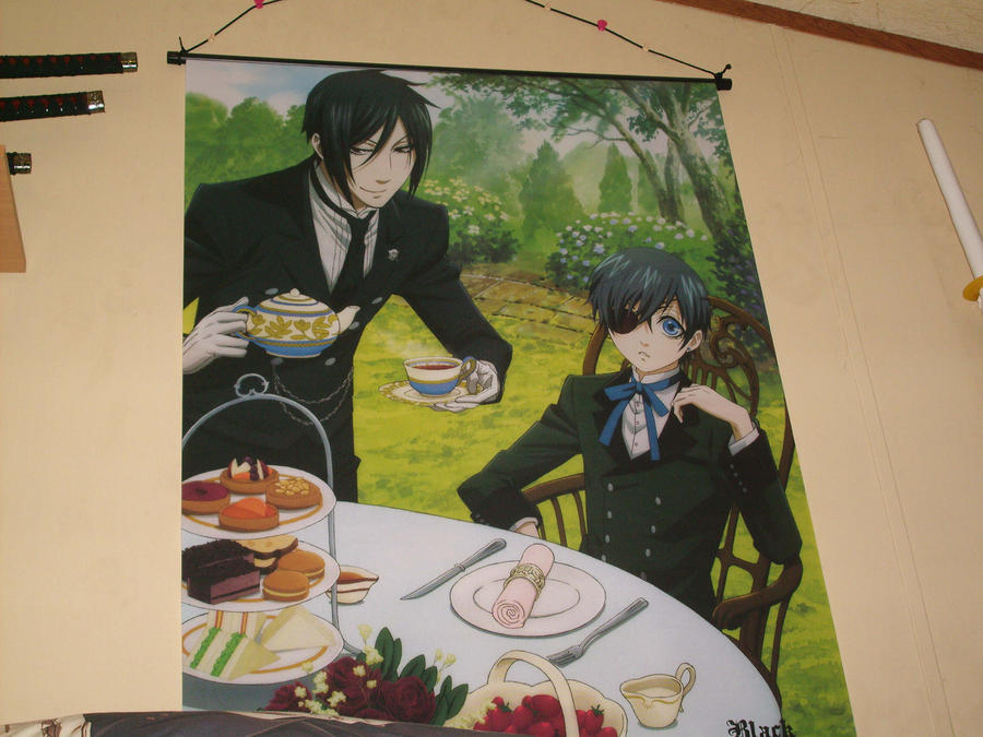 Kuroshitsuji Wall Scroll By Oppafaustusstyle On Deviantart