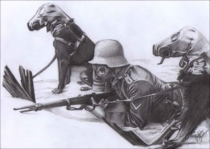 WW1 Gas Masks By LoveDemise