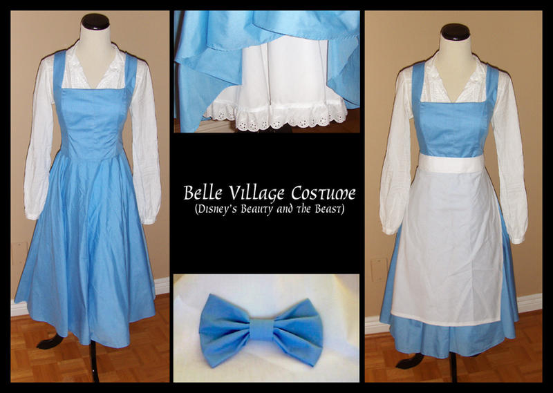 Belle Village Dress I by amariel ... & Belle Village Dress I by amariel on DeviantArt