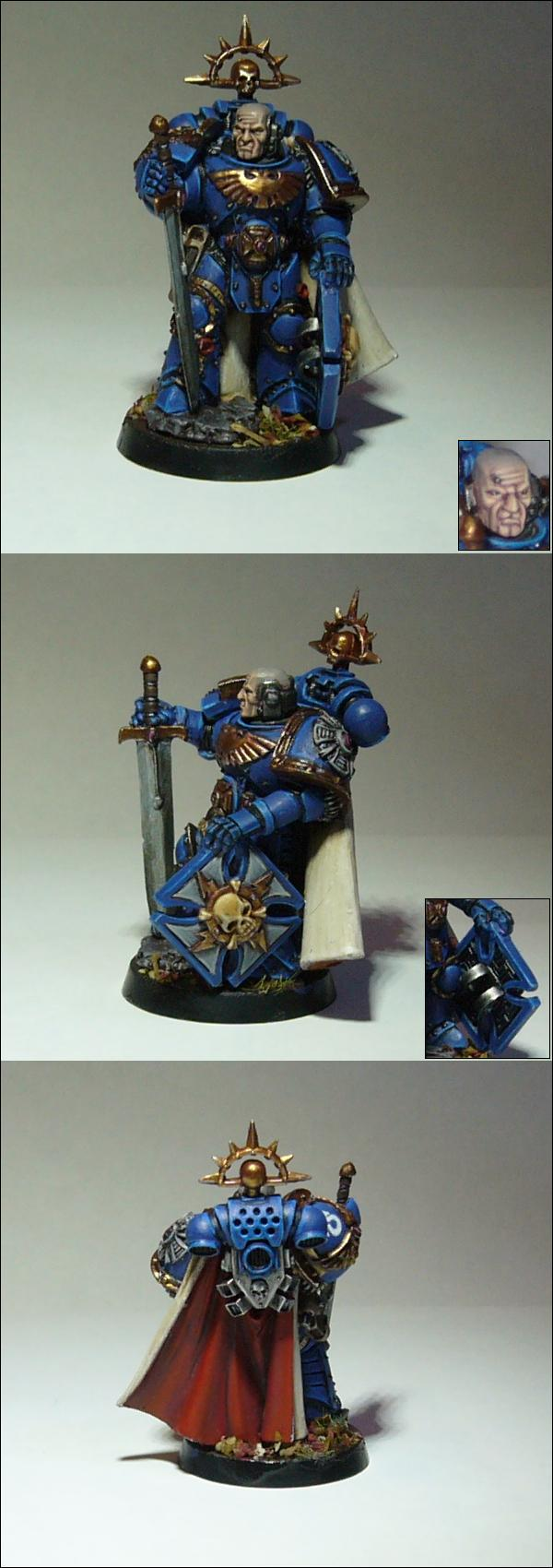 Ultramarines Captain by SOCMaster