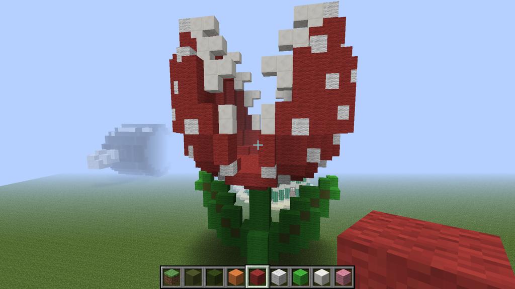 Minecraft: Super Mario Bros Piranha Plant V1 by SamuelEarl666
