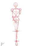 Szkic postaci (Tablet) 1