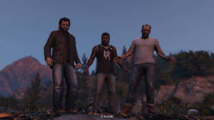 Three buddies. Guys, it's over... by TheAjsAx