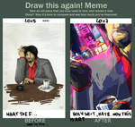 Draw this again! Meme by TheAjsAx