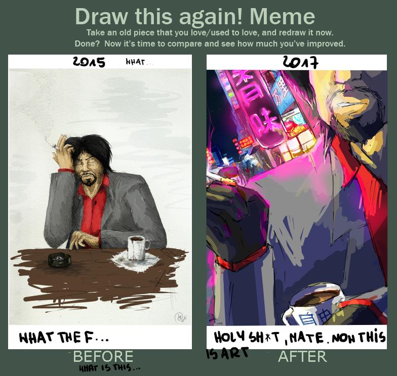 Draw this again! Meme by TheAjsAx