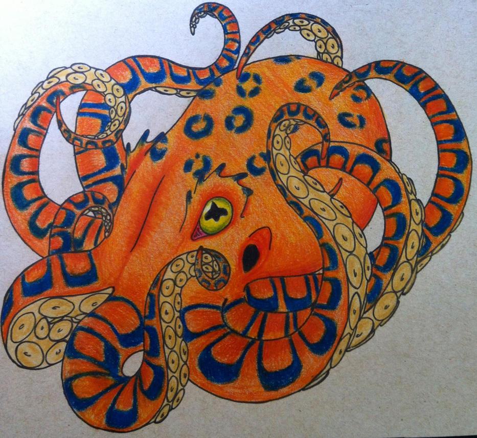 Blue ringed octopus tattoo james bond - photo#25