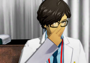 Maruki in the Nurse Room