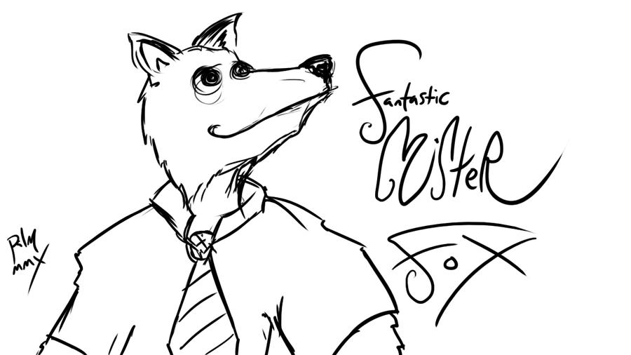 Fantastic Mr Fox By Negativetwo On Deviantart Fantastic Mr Fox Coloring Pages