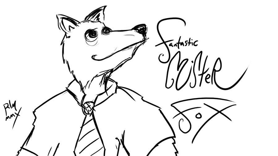 fantastic mr fox by negativetwo on DeviantArt