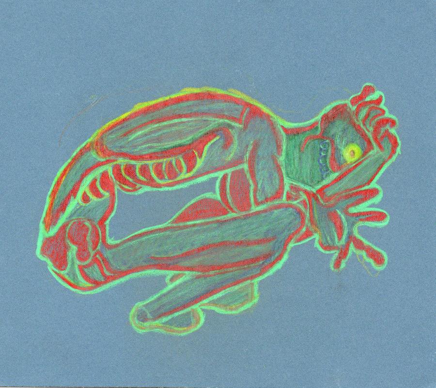 'TERROR' magic card by Bones253