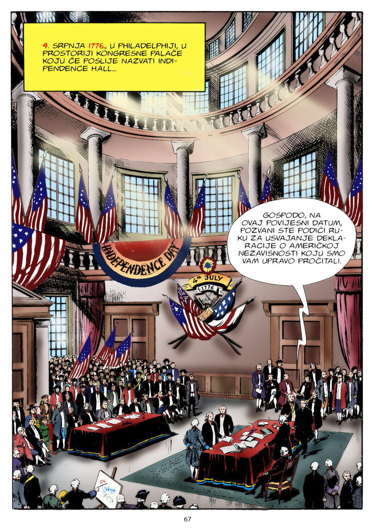 4 July 1776 Independence Day by ddeki