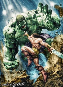 Hulk and Conan