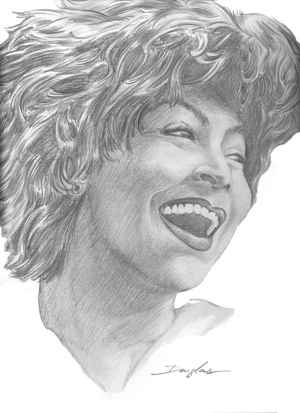 Tina Turner by art2work
