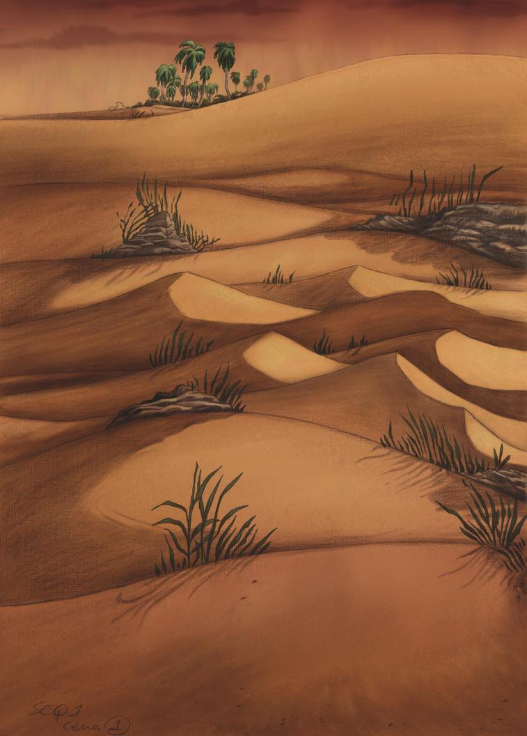 The Desert by art2work