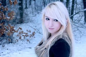 Snow Elf #01 by Liancary-art