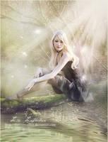 Mornie alantie (darkness has fallen) by Liancary-art