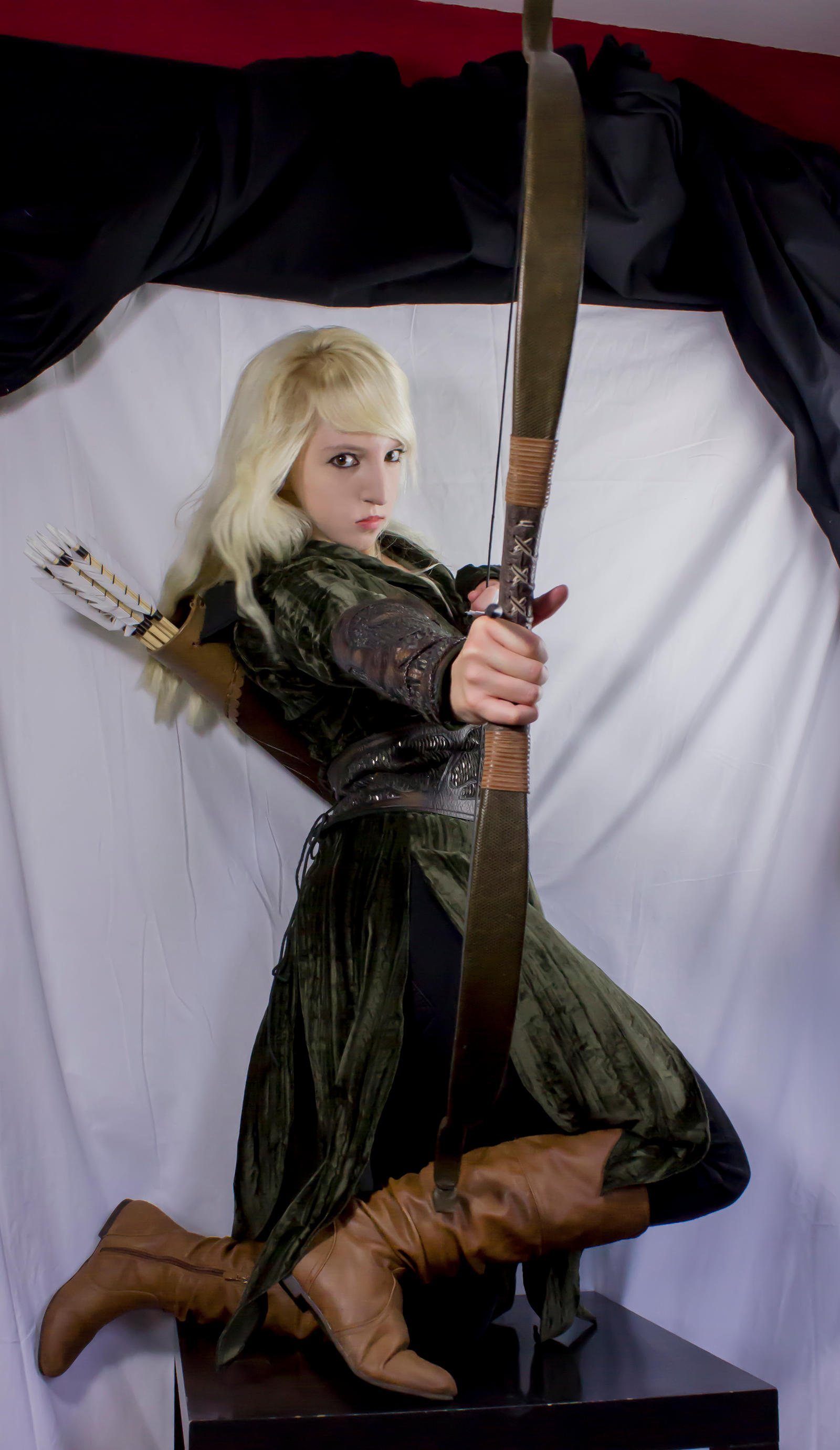 Mirkwood elf - Action Stock by Liancary-Stock