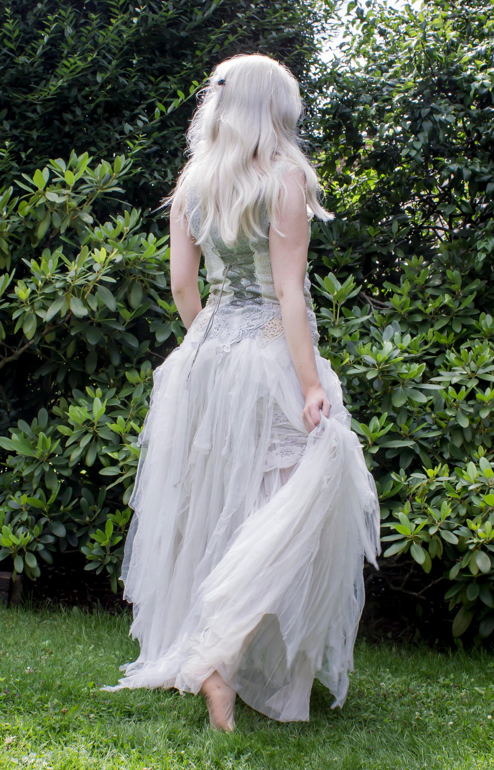 White dress by Liancary-art