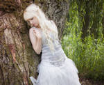 White dress Stock