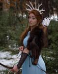 Skadi - winter goddess