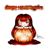 Happy Halloween 2014~! by Yahone