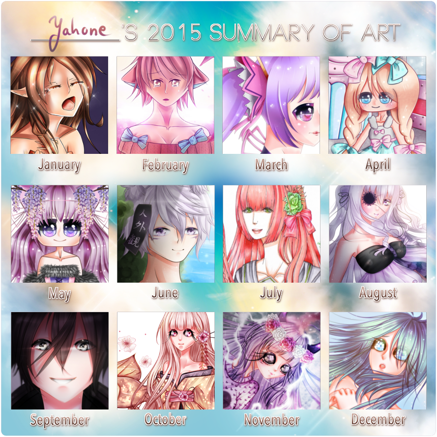 2015 Summary Of Art by Yahone