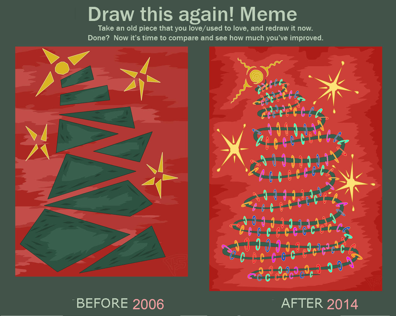 Draw Again Christmas Card Design By Brainstorm Bw Style On Deviantart