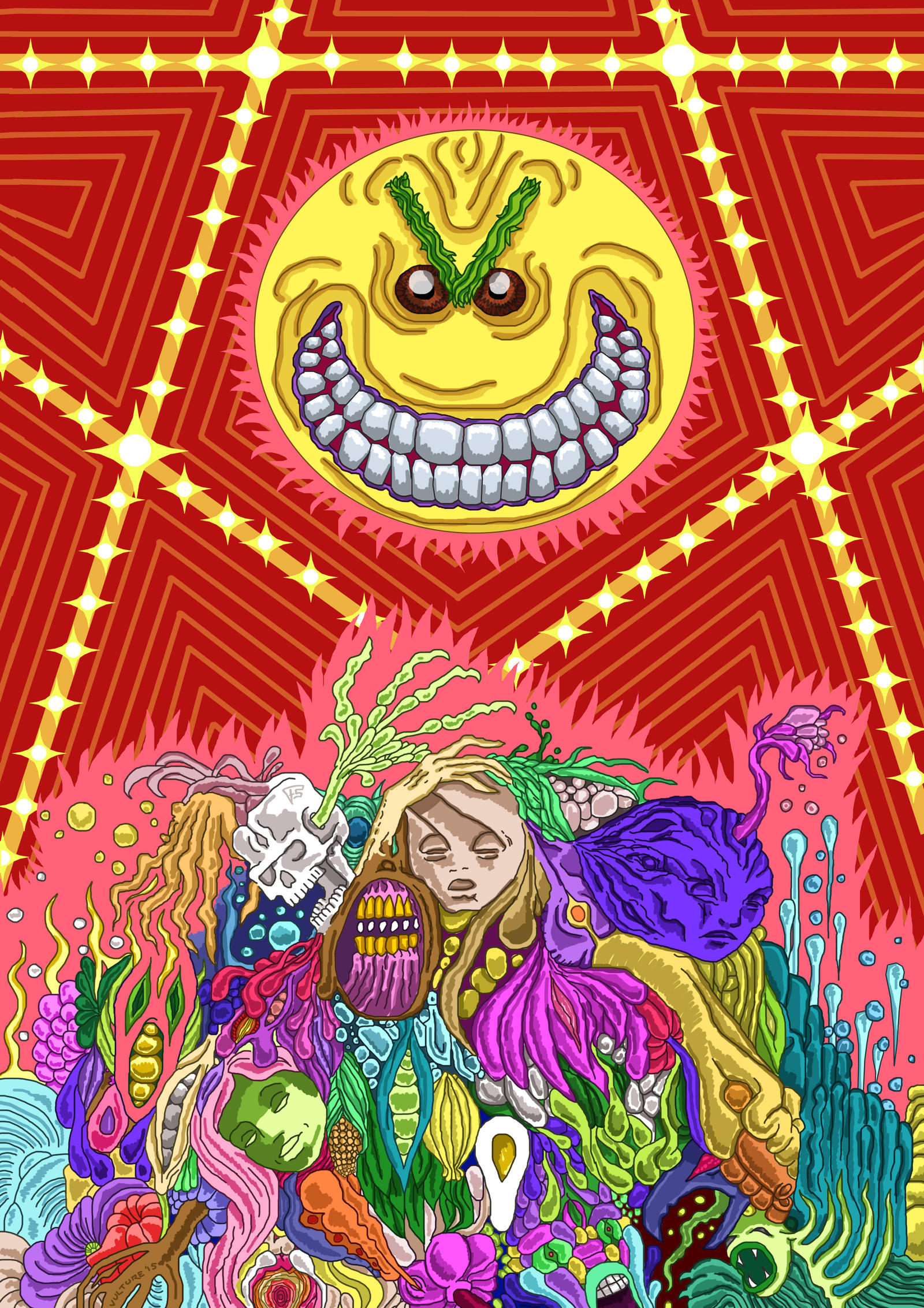 Trolling Sun by Brainstorm-bw-style