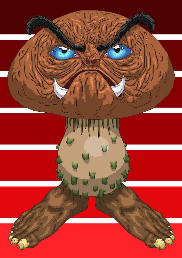 RL Goomba by Brainstorm-bw-style