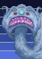Alien Head 8 by Brainstorm-bw-style