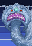 Alien Head 8