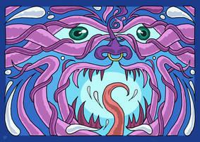 Moloch Aurora Collab by Brainstorm-bw-style
