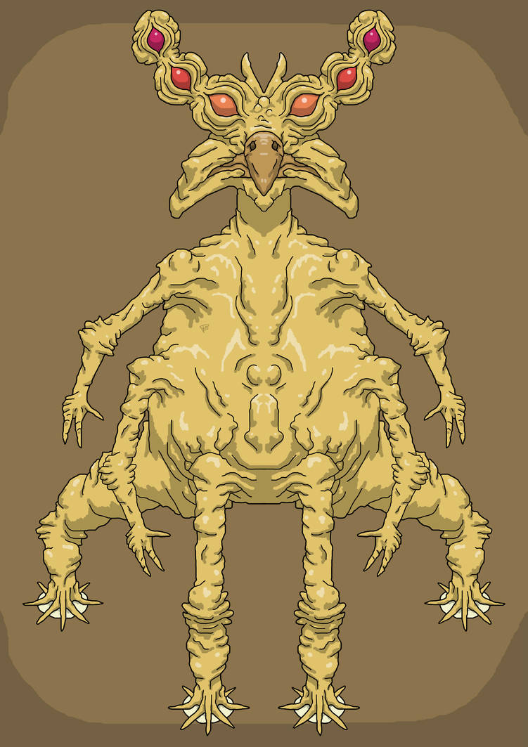 Alien Creature 13 by Brainstorm-bw-style