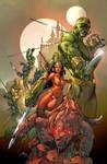 Dejah Thoris and the Green Men of Mars#1 cover