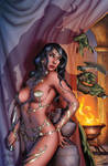Dejah Thoris and the Green Men of Mars#2 cover