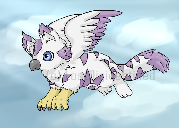 Grypahirmon Flyght by LostDigidestined