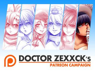 Doctor Zexxck's Patreon campaign by DoctorZexxck