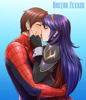Lucina and Spiderman