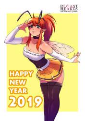 Happy new year 2019 by DoctorZexxck
