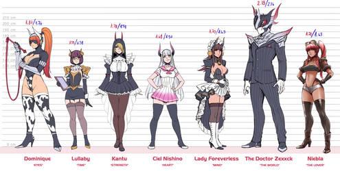 Doctor Zexxck's main characters
