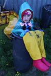 the cute rainweargirl odpadkazulma