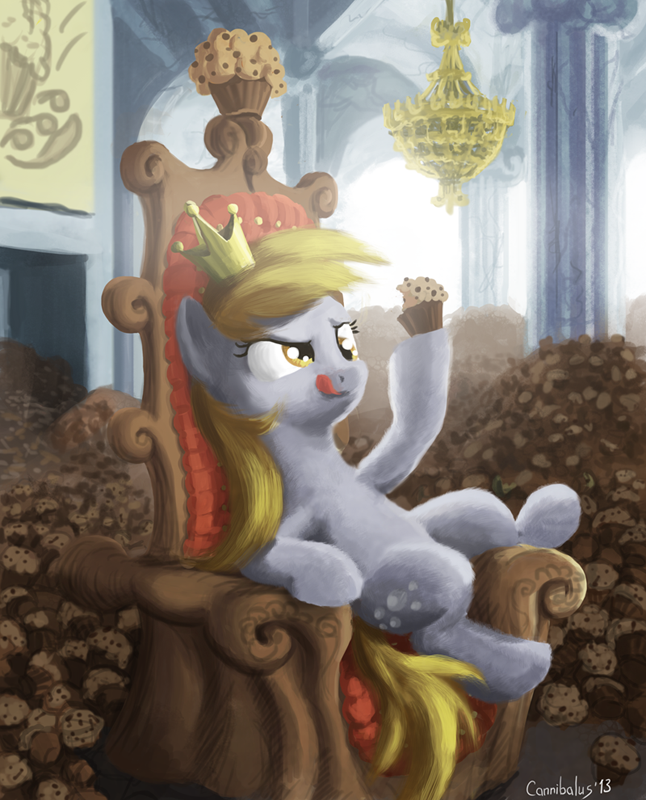 Muffin Queen by Cannibalus