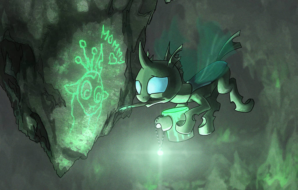 Changeling-artist by Cannibalus