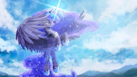 Princess Luna by Cannibalus