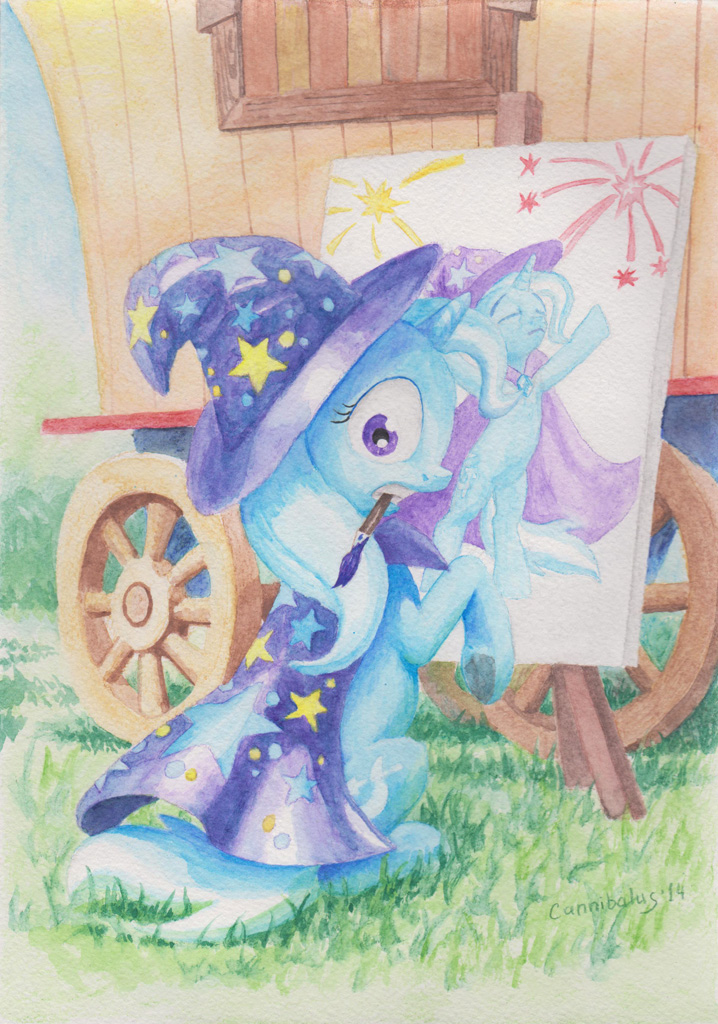 The Great and Powerful Artist by Cannibalus