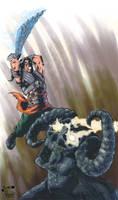 Prince of Persia vs Dahaka