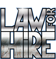Law For Hire Logo by Predabot
